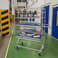 тележки на завод, производство, фабрику на заказ